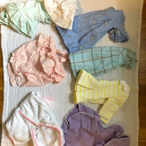 Janie and Jack 0-3 month clothes